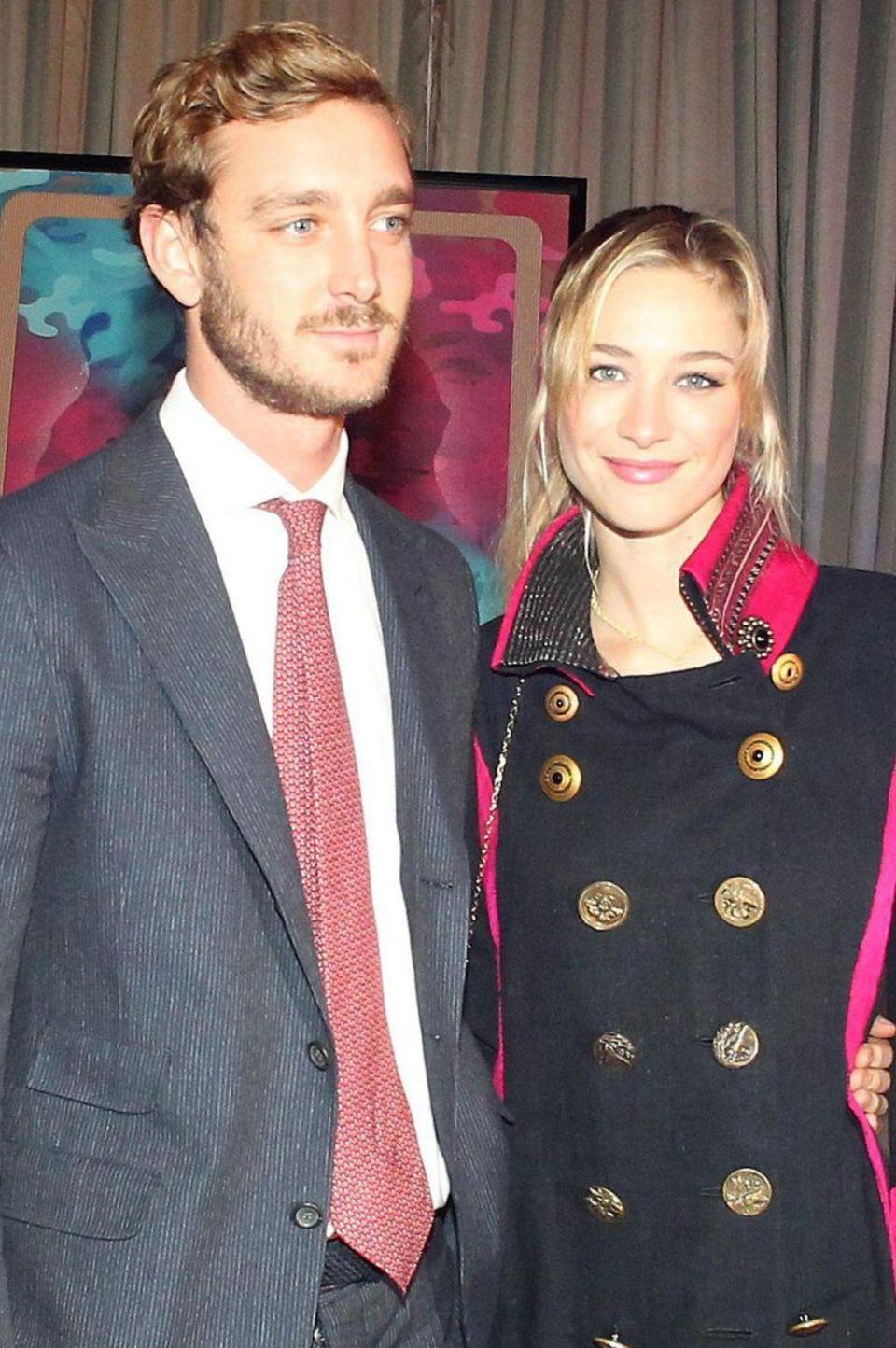 Beatrice Casiraghi mit Ehemann Pierre
