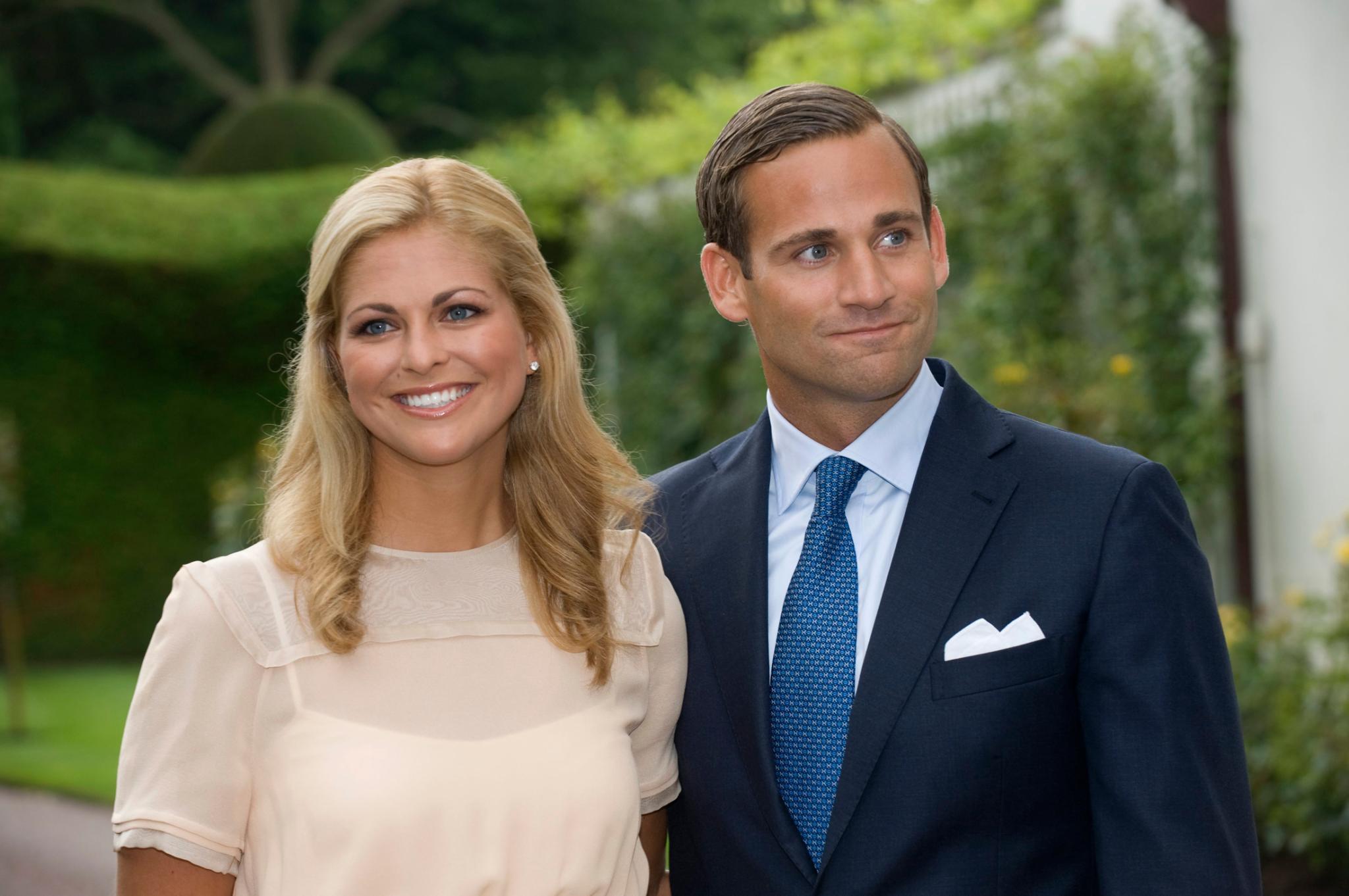 Prinzessin Madeleine und Jonas Bergström waren von 2002 bis 2010 ein Paar.