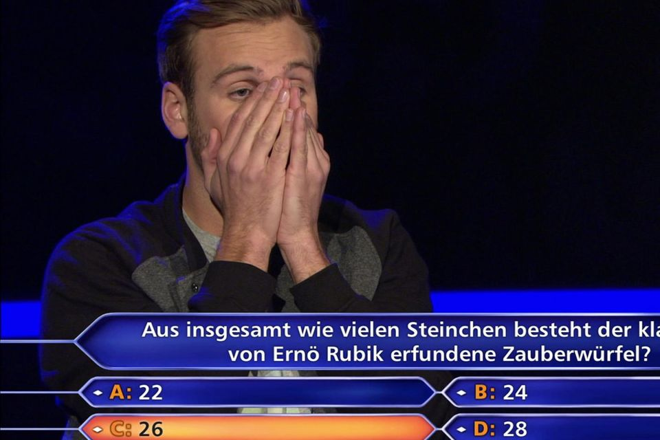Leon Windscheid bei der Millionen-Frage