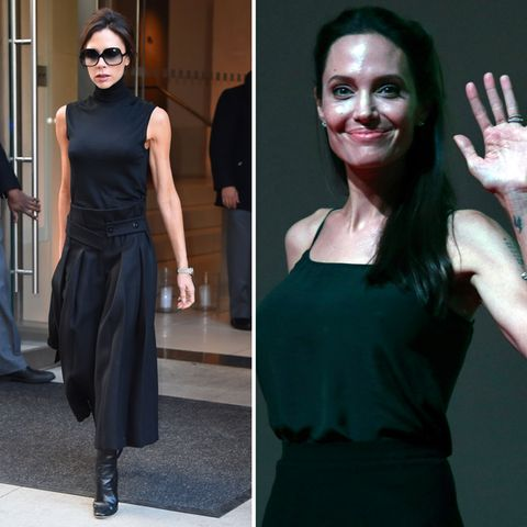 Victoria Beckham + Angelina Jolie