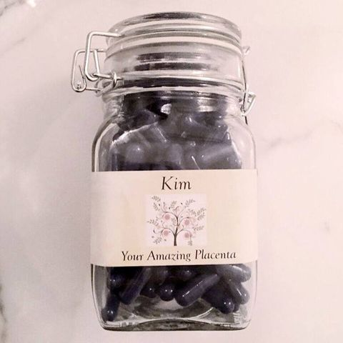 Kim Kardashians Plazenta-Pillen
