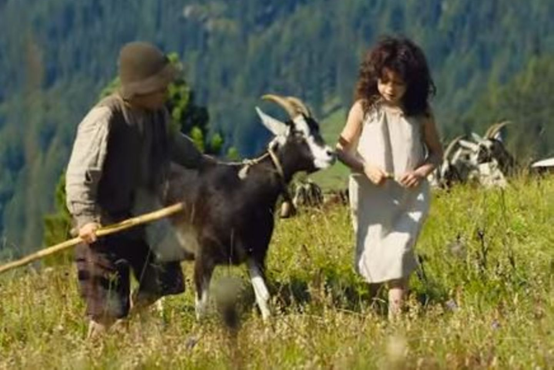 "Szene aus der Neuverfilmung ""Heidi"""
