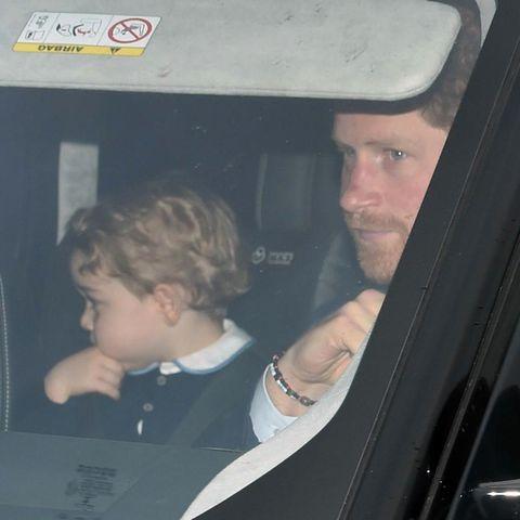 Prinz George, Prinz Harry