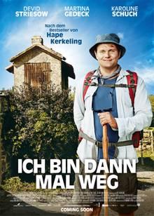 """Am 24. Dezember läuft die von Nico Hofmann (UFA Fiction) produzierte, mit Spannung erwartete Kinoversion von """"Ich bin dann mal weg"""" an (Verleih: Warner Bros.). Neben Devid Striesow sind unter anderem Martina Gedeck und Katharina Thalbach zu sehen."""