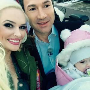 Daniela Katzenbeger und Lucas Cordalis mit Baby Sophia