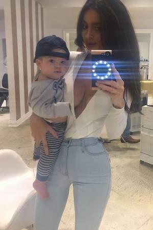 Sarah Stage + Baby James