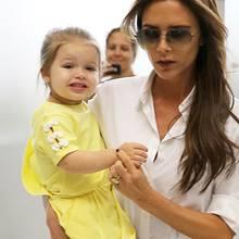 Victoria Beckham + Töchterchen Harper