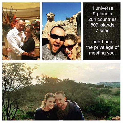 Martin Kirsten und seine Freundin
