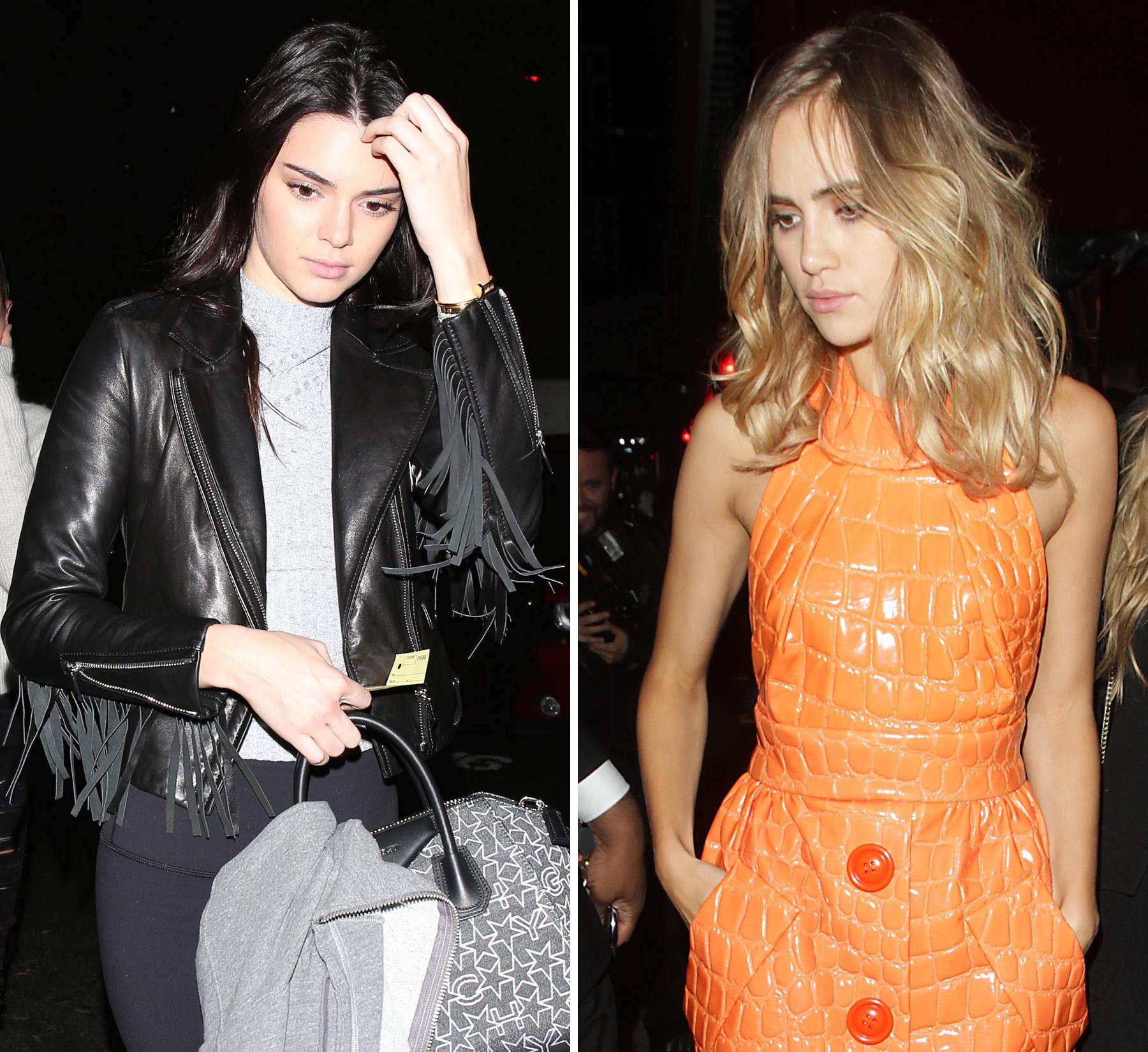 Kendall Jenner + Suki Waterhouse