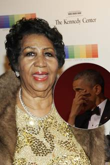 Aretha Franklin, Barack Obama