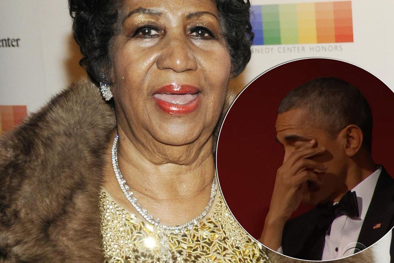 Aretha Franklin, Barack Obama