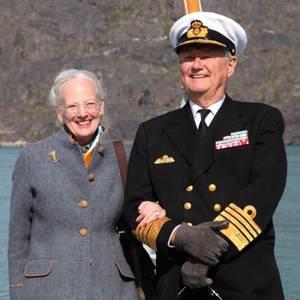 Königin Margrethe und Prinz Henrik besuchten 2015 noch gemeinsam Grönland - in Zukunft wird es solche Bilder wohl nicht mehr geben.