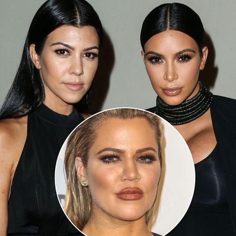 Kourtney, Khloé und Kim Kardashian