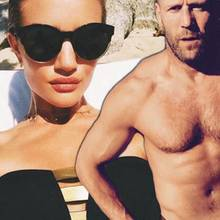 Rosie Huntington-Whiteley + Jason Statham