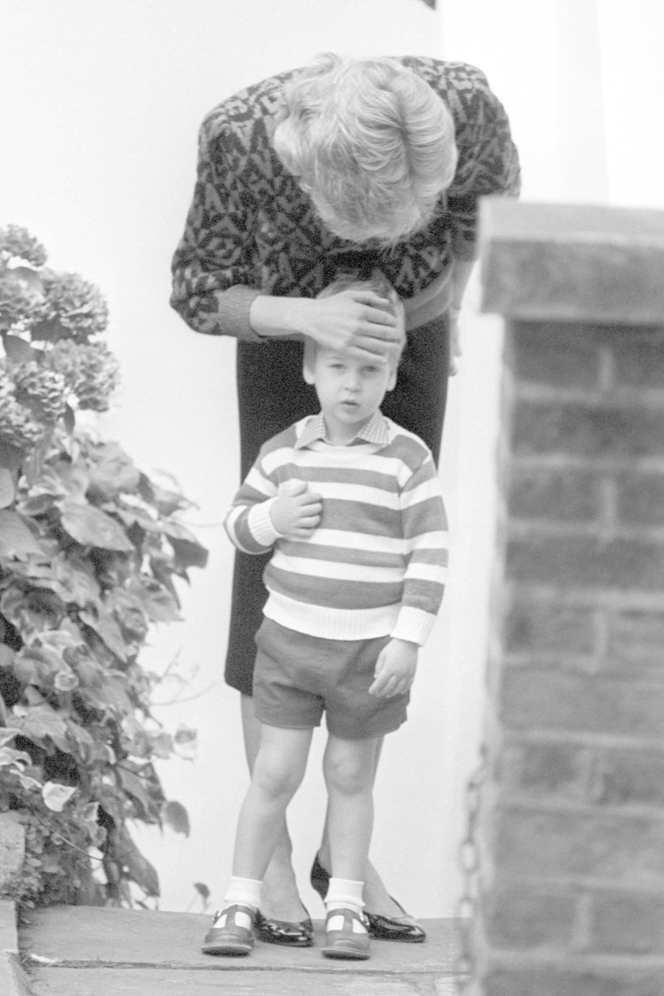 Prinz William besuchte einen Montessori-Kindergarten in London ab 1985.