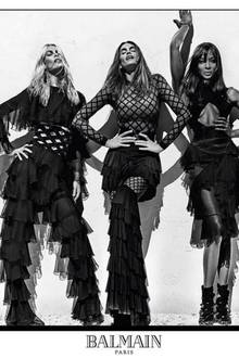Claudia Schiffer, Cindy Crawford, Naomi Campbell