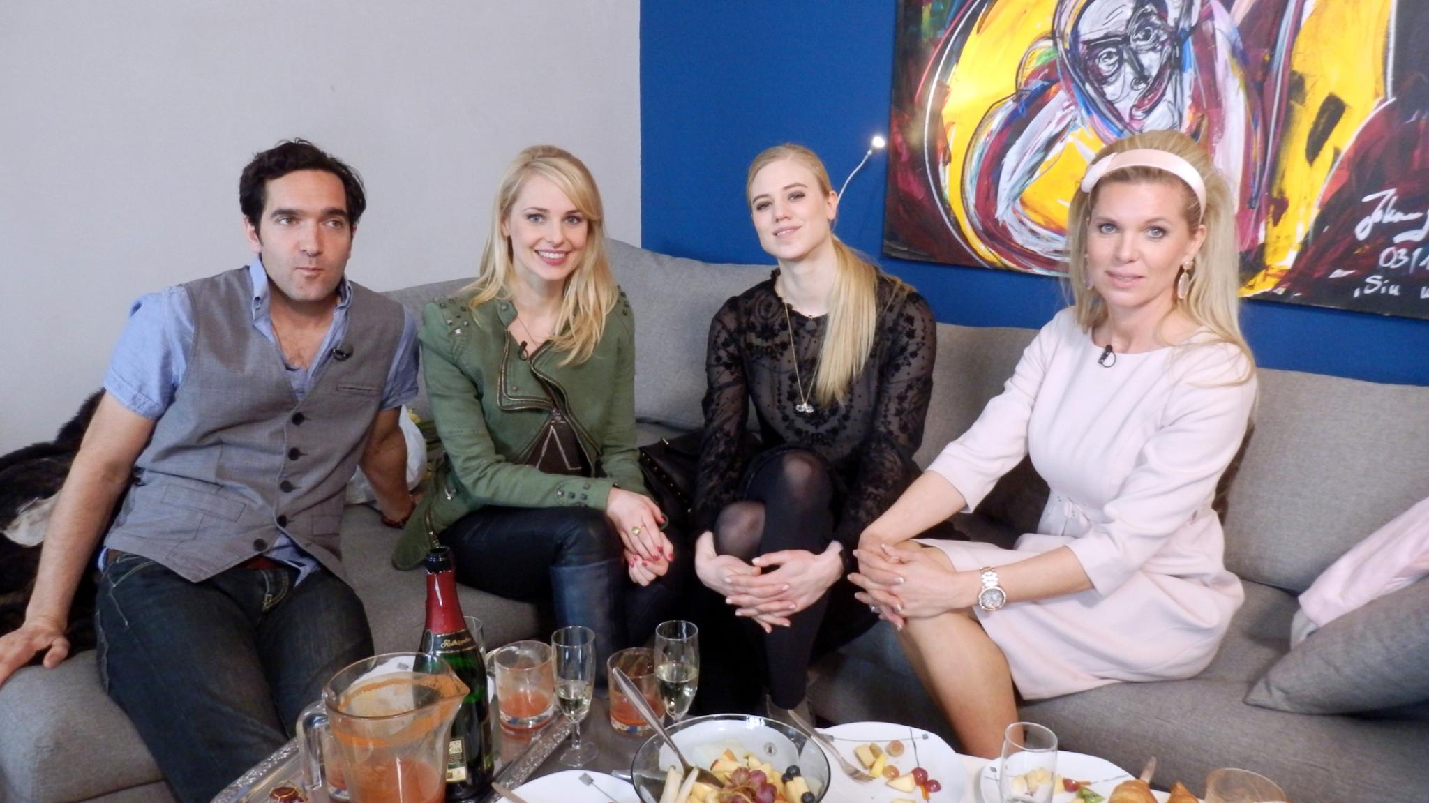 Thomas Maximilian Held, Larissa Marolt, Silvia Schneider, Prinzessin Maja von Hohenzollern
