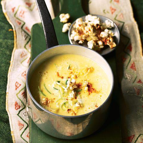Käse-Mais-Suppe