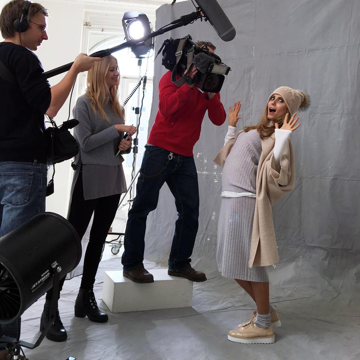 Hinter den Kulissen Mode TV Titten