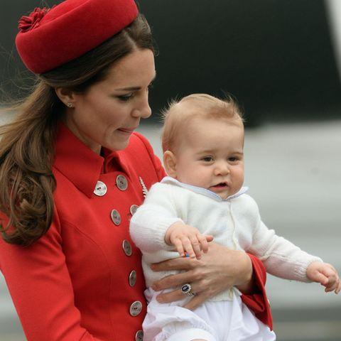 Herzogin Catherine, Prinz George (Archivbild 2014)