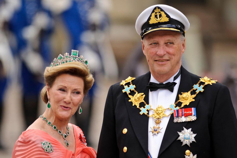 Königin Sonja + König Harald