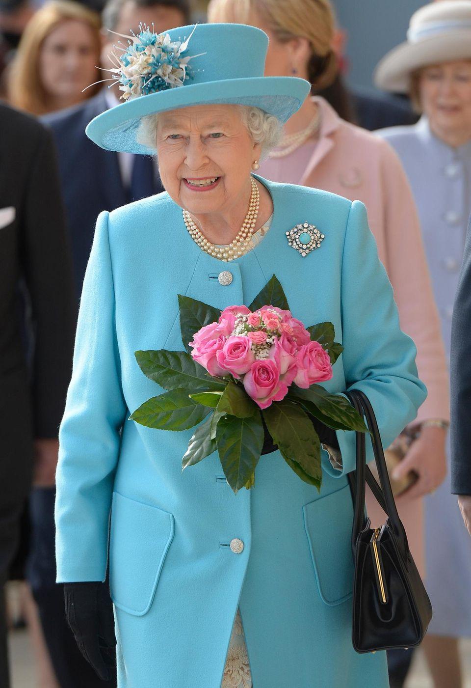 Queen Elizabeth II. wird am 21. April 2016 90 Jahre alt.