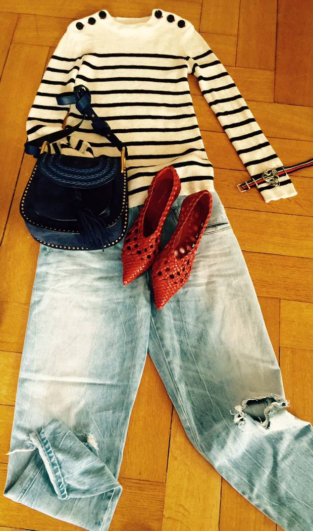 Maritimer Chic trifft Allrounder Jeans