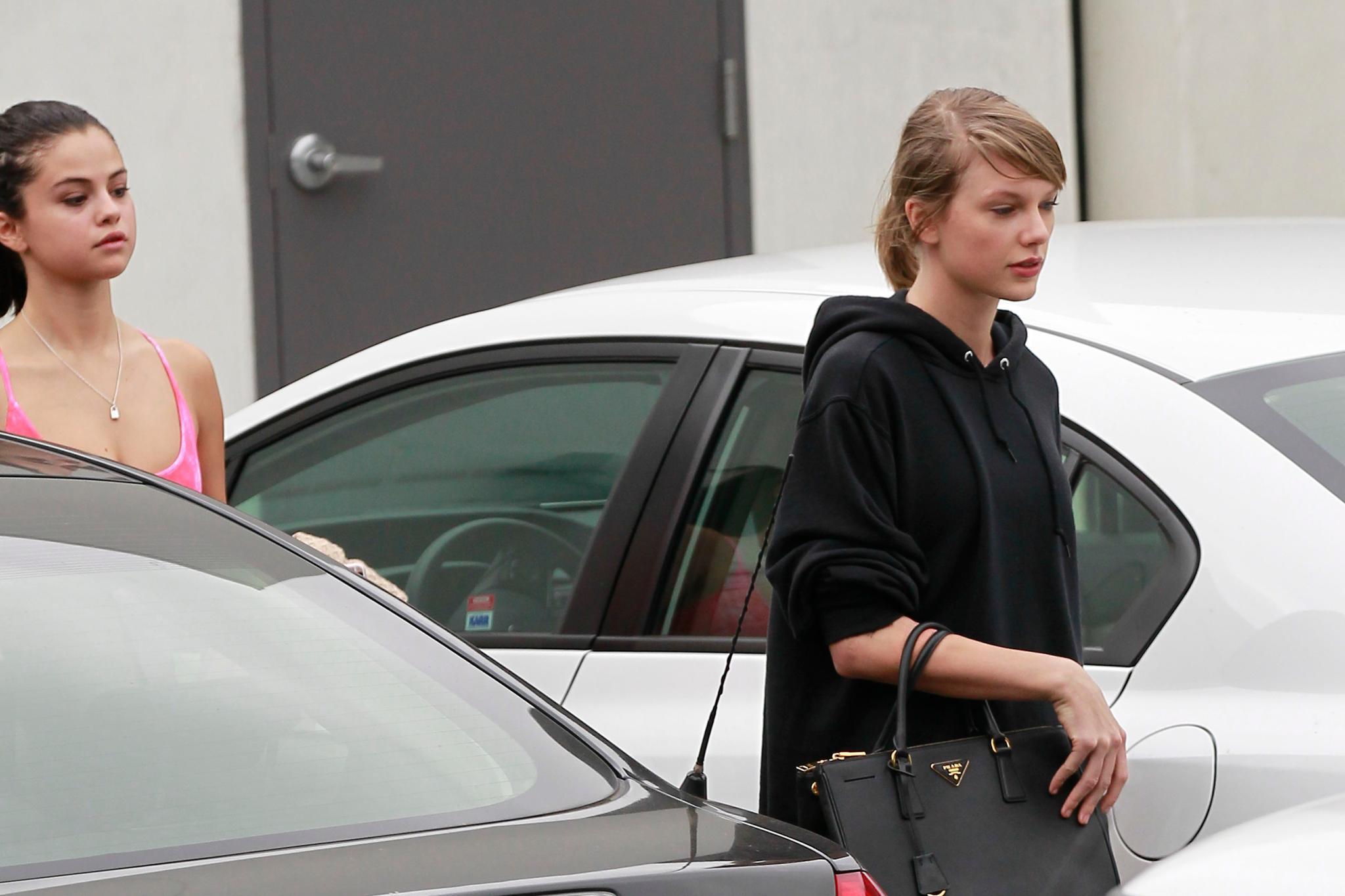 Taylor Swift + Selena Gomez: Spotted! Zwei Superstars au naturel.