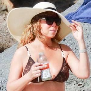 Mariah Carey: Bikini-Foto ohne Photoshop