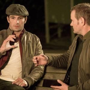 """Benjamin Piwko und Devid Striesow im Tatort """"Totenstille"""""""