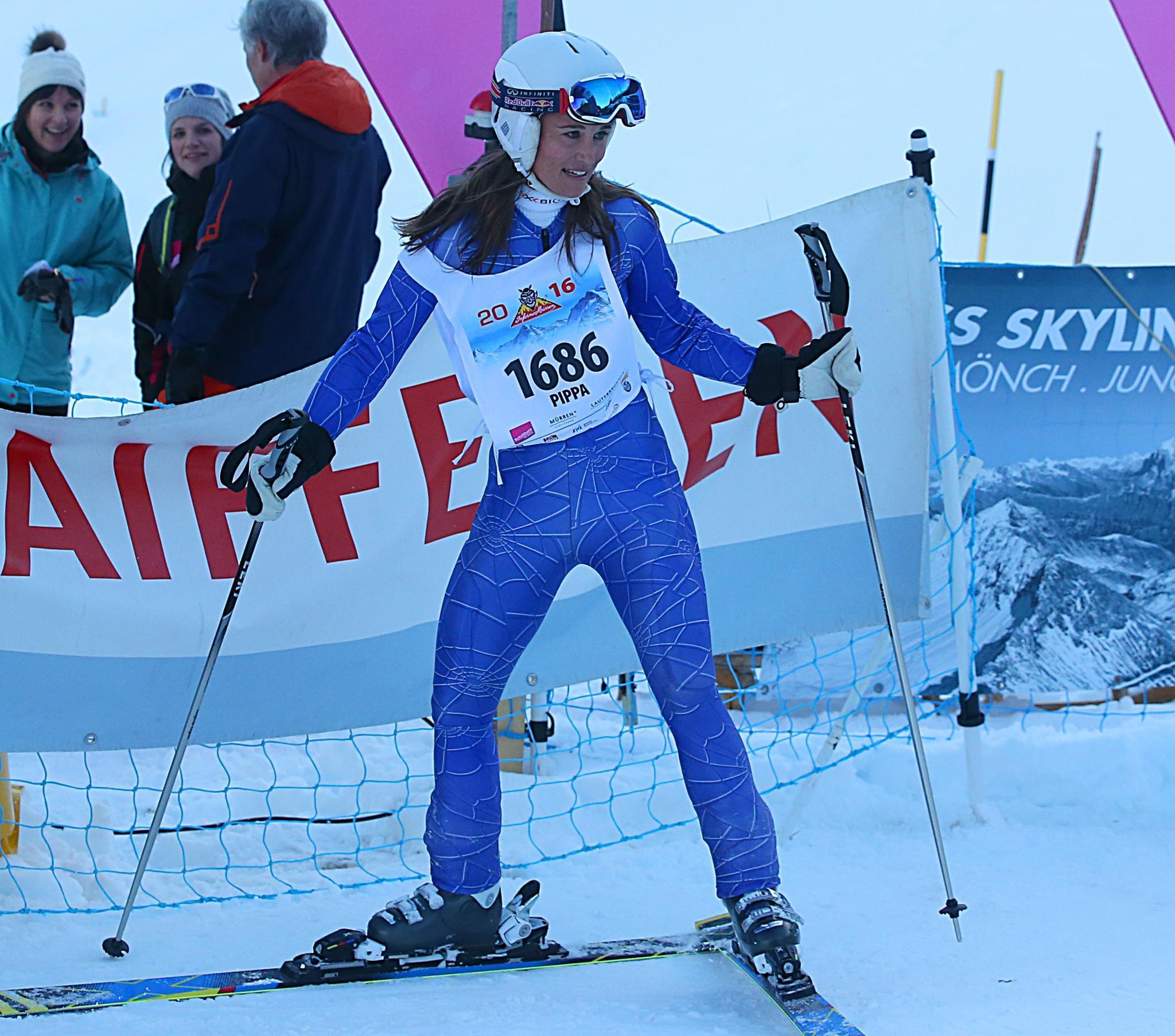 """""""Meine Beine tun so weh, ich habe wirklich alles gegeben"""", sagte sie nach dem Rennen"""