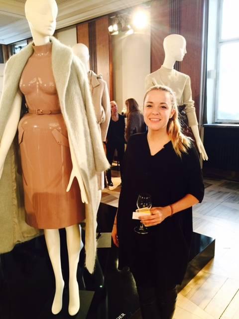 Designerin Marina Hoermanseder wurde für ihre umwerfende neue Kollektion von Besuchern und Presse gefeiert.