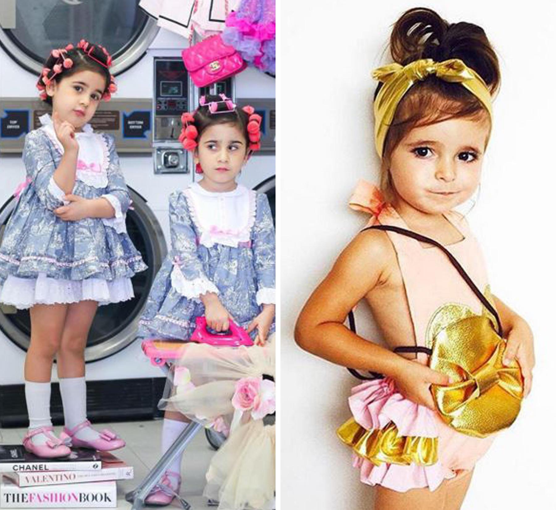Instagram Stars Kleine Models ganz groß im Netz