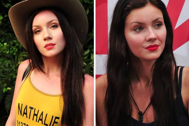 Wie schafft es Model Nathalie bei der tropischen Hitze im Camp so gut auszusehen? Im Vergleich zu ihrem Make-up beim Einzug in den Dschungel, ist im Camp kaum ein Unterschied zu erkennen.