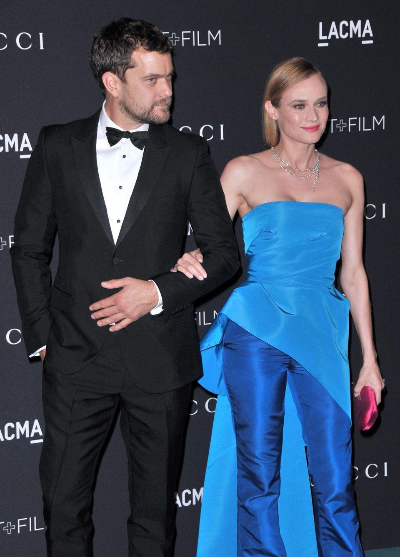 Joshua und Diane am 7. November bei der LACMA 2015 Art+Film Gala in Los Angeles