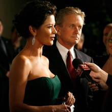 Catherine Zeta Jones, Michael Douglas