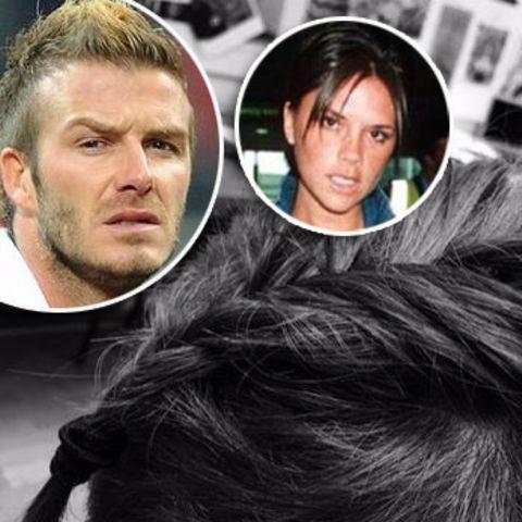 David Beckham + Victoria Beckham: Neue Flechtfrisur für Männer