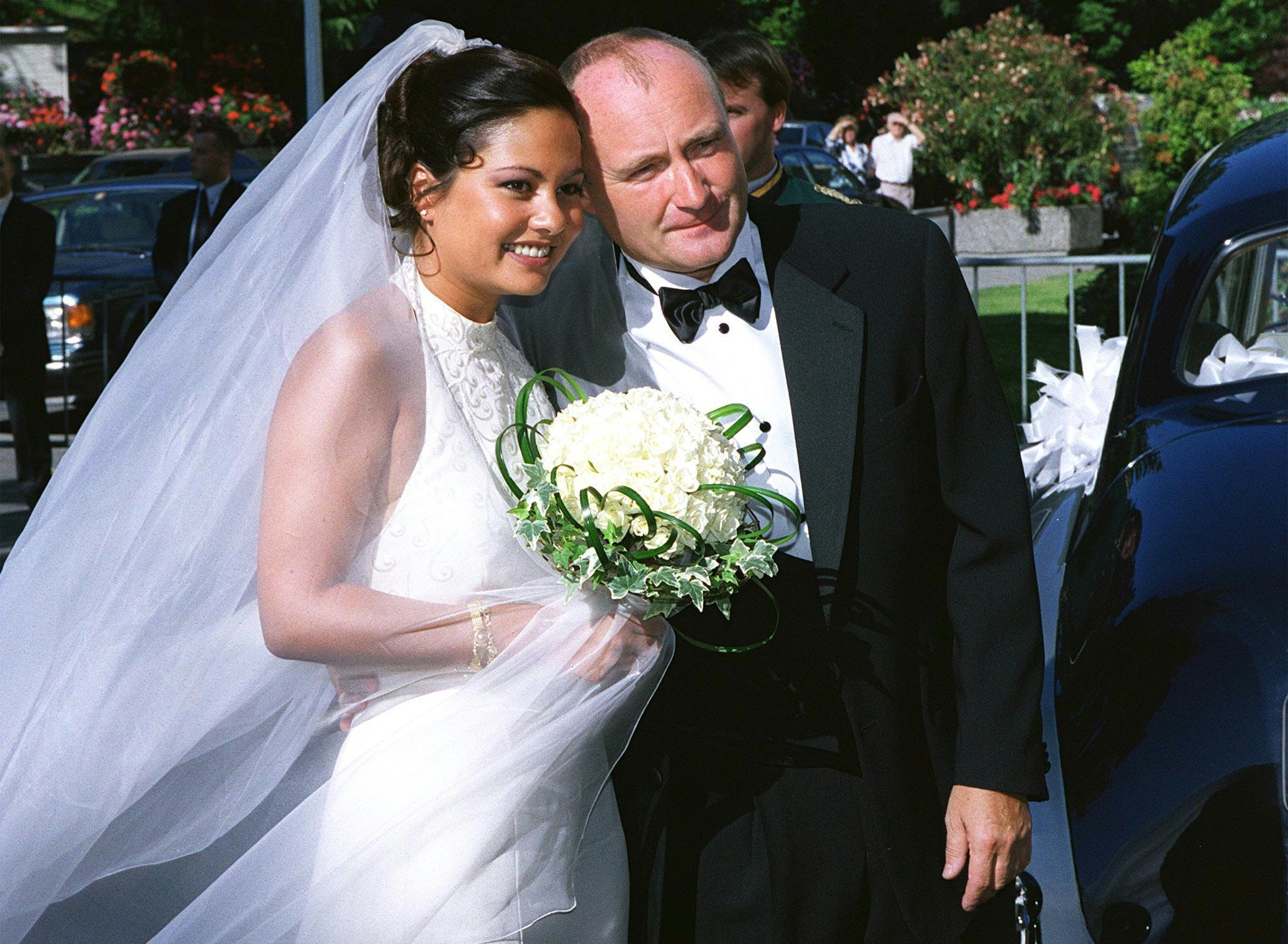 Orianne Cevey, Phil Collins