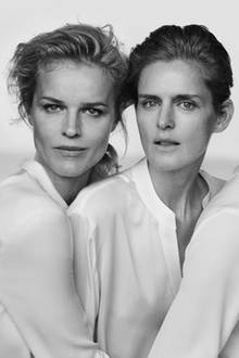 Eva Herzigova und Stella Tennant