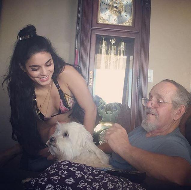 Vanessa Hudgens und ihr Vater Greg