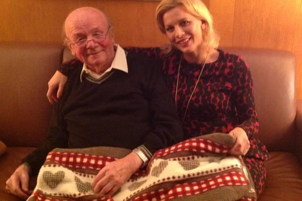 Eva Habermann mit ihrem Vater Gerd Habermann (†)