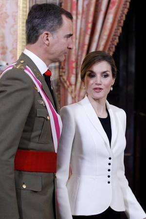 König Felipe, Königin Letizia von Spanien