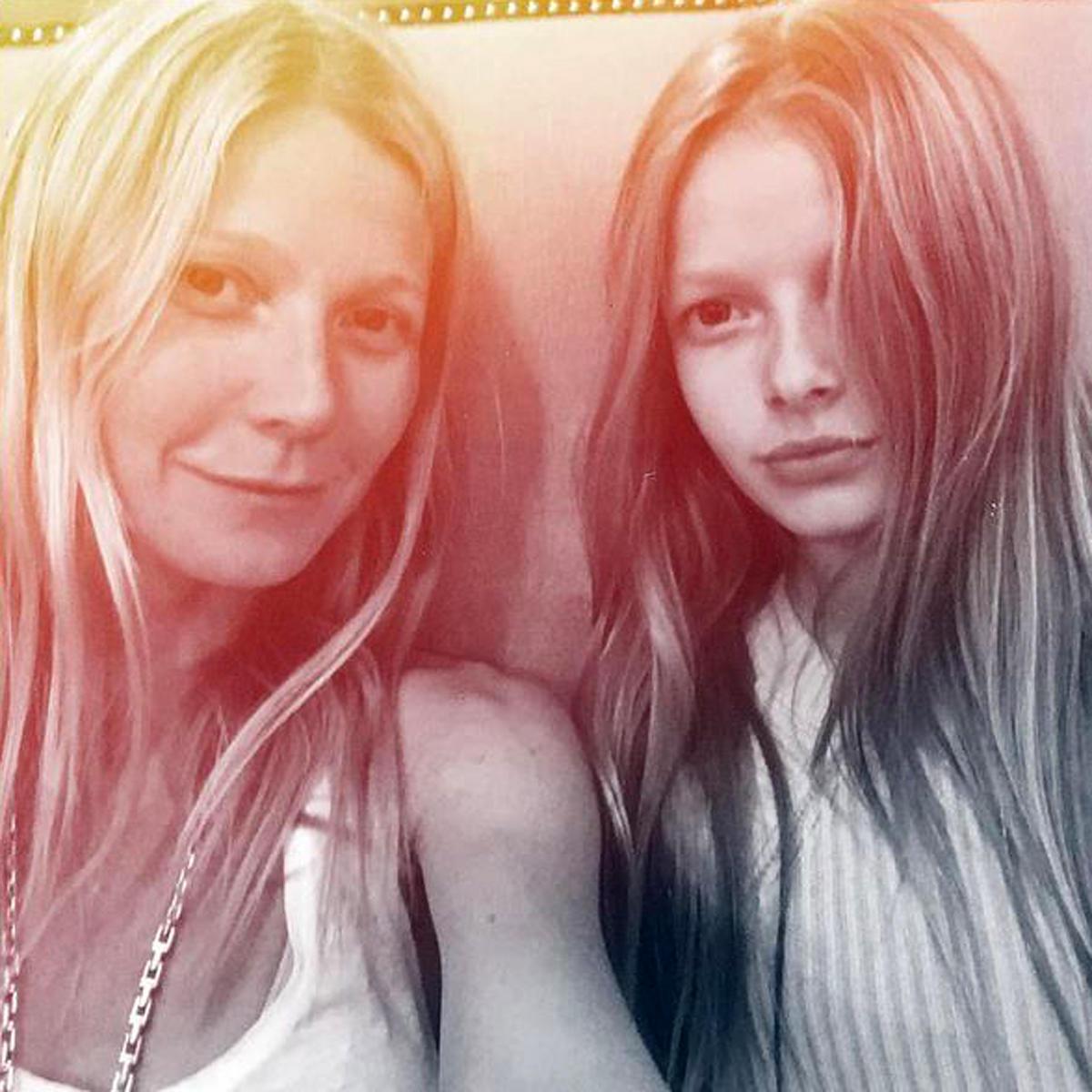 Gwyneth Paltrow + Apple Martin