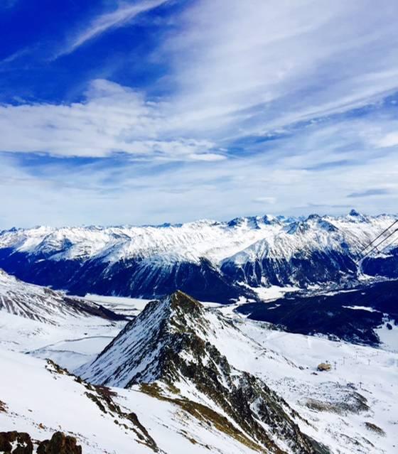 Himmlische Aussichten und Kaiserwetter in St. Moritz
