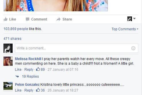 Eine besorgte Userin spricht aus, was viele denken: Kristina Pimenova wird als Sexsymbol und Traumfrau angesehen, obwohl sie gerade erst zehn Jahre alt ist.