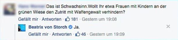#Mausgerutscht: Die skurrile Erklärung der Beatrix von Storch