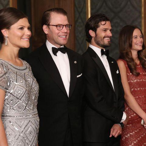 Prinzessin Victoria, Prinz Daniel, Prinz Carl Philip und Prinzessin Sofia
