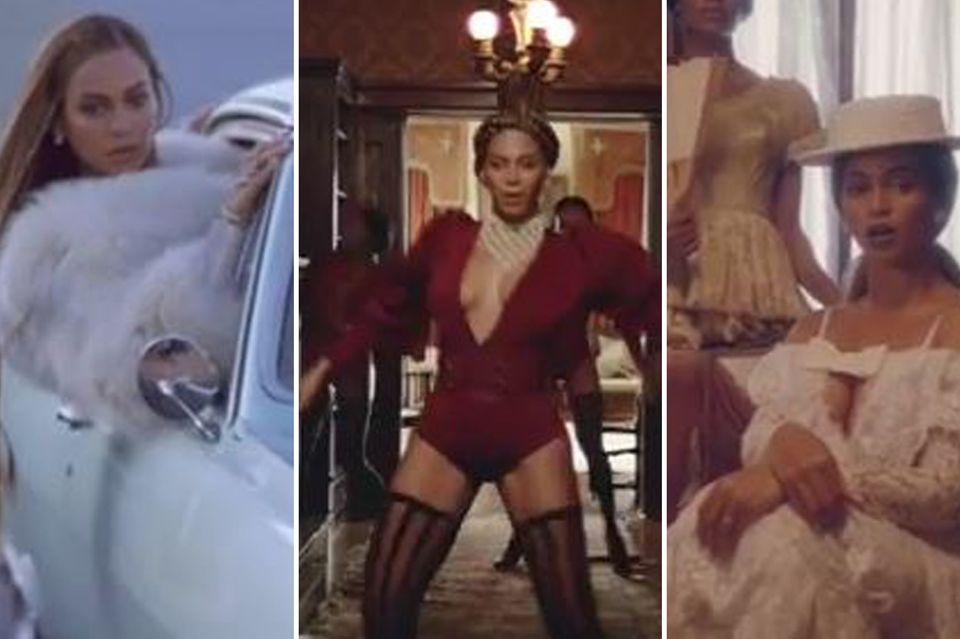 Ihre Filmkostüme sind Kult: Superstar Beyoncé trägt tolle Designerlabels in ihrem Videoclip.