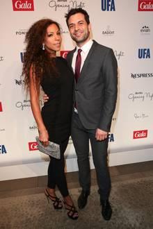 Schauspieler Kai Schumann brachte seine bildschöne Freundin, die Ärztin Marva Schreiber, mit zur Party.