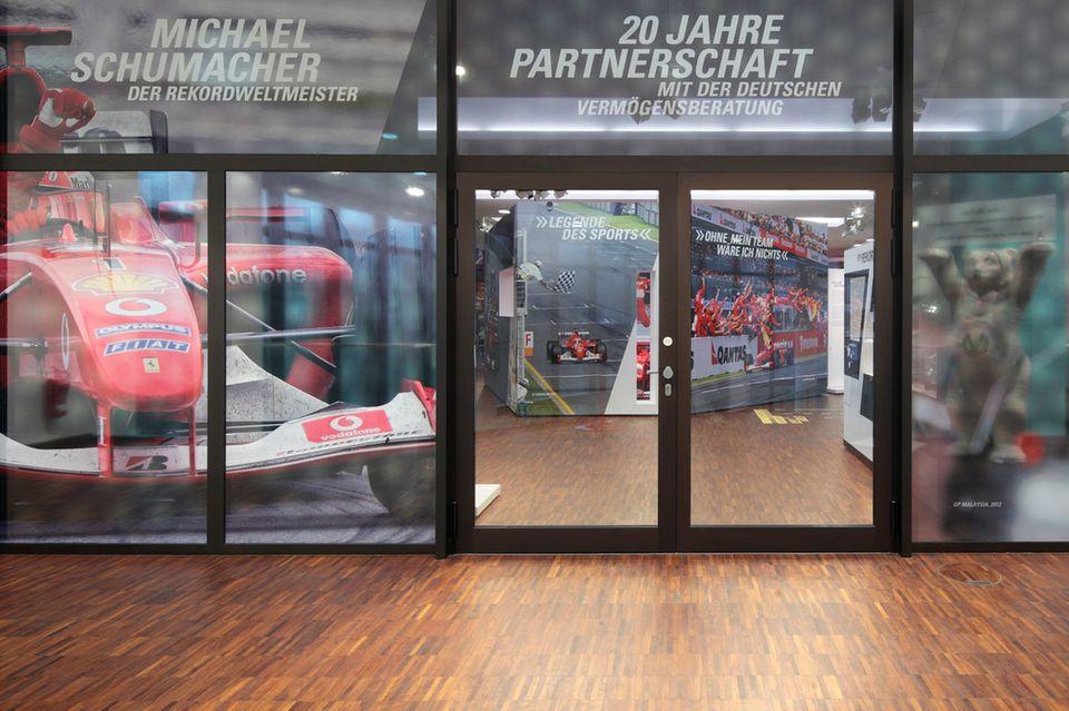 Michael Schumacher: Hier finden Sie Infos zur Ausstellung